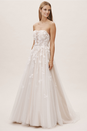 BHLDN Watters Vespertine Gown