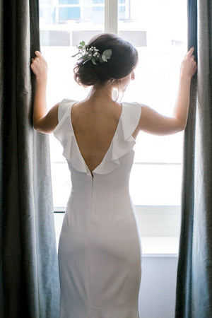 BHLDN Badgley Mischka Heather Gown