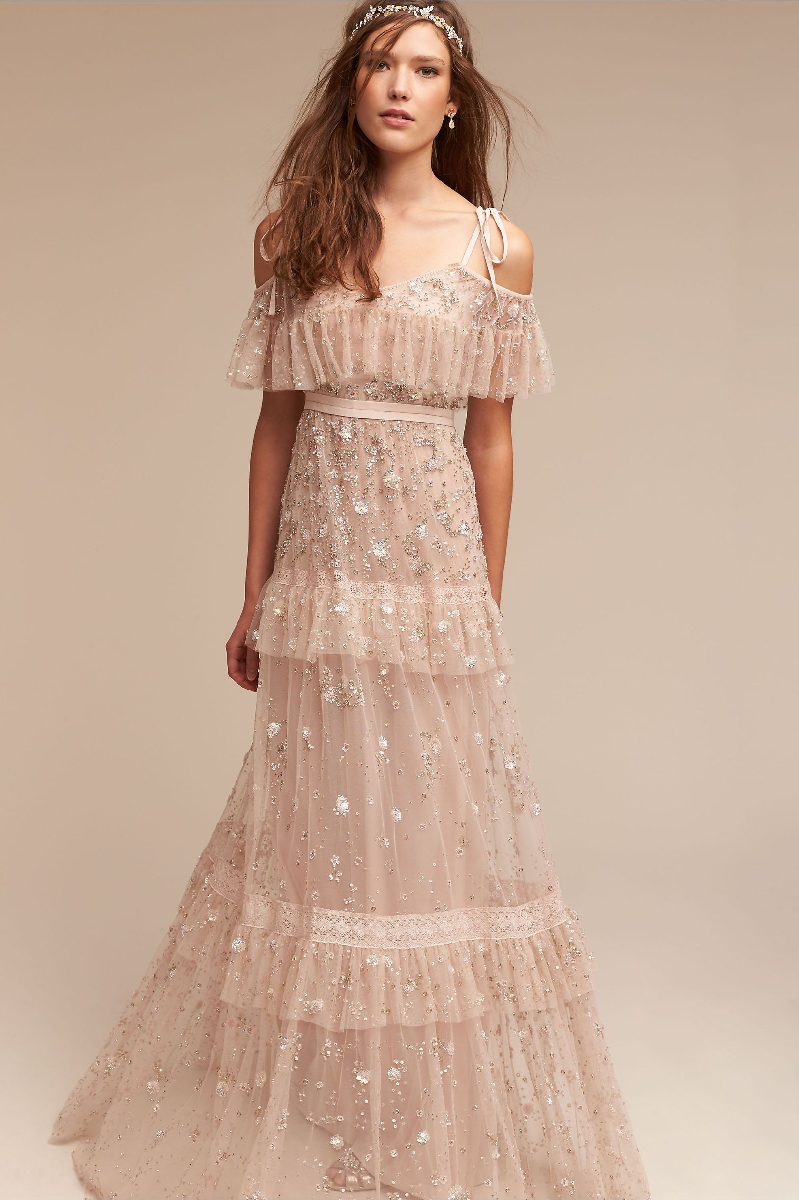 BHLDN Needle & Thread Wyndham Gown