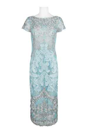 BHLDN JS Collections Santiago Dress - Silver Ice