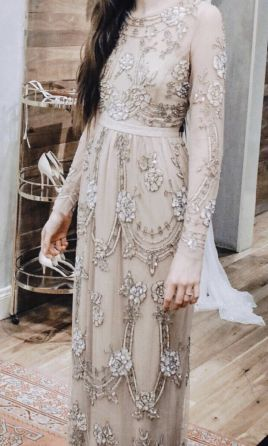 BHLDN Needle & Thread Adona Gown