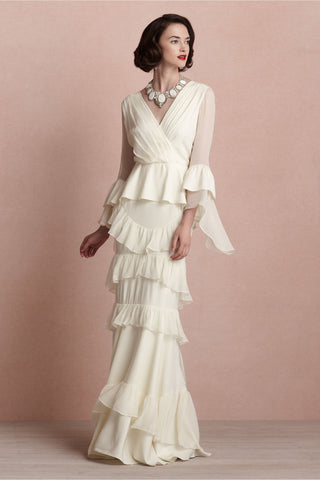 BHLDN Banderole Gown