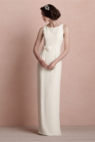 BHLDN Bouvier Column Gown