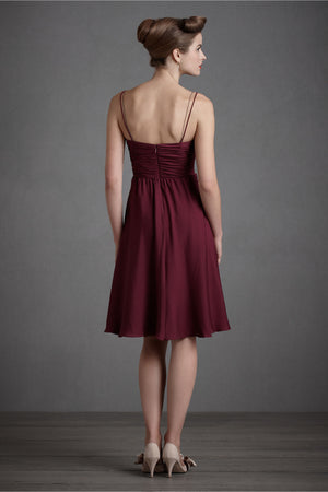 Couplet Dress - Berry Back