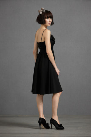 Couplet Dress - Black Brunnette