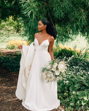 BHLDN Wtoo by Watters Opaline Gown