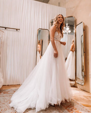 BHLDN Wtoo by Watters Lange Gown