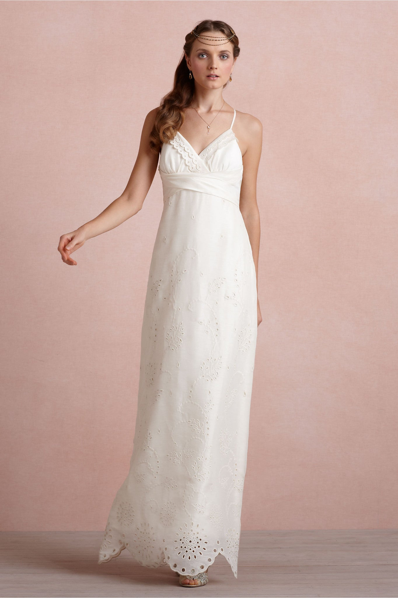 ea72e28e49 BHLDN Eyelet Medley Sheath - Adinas Bridal
