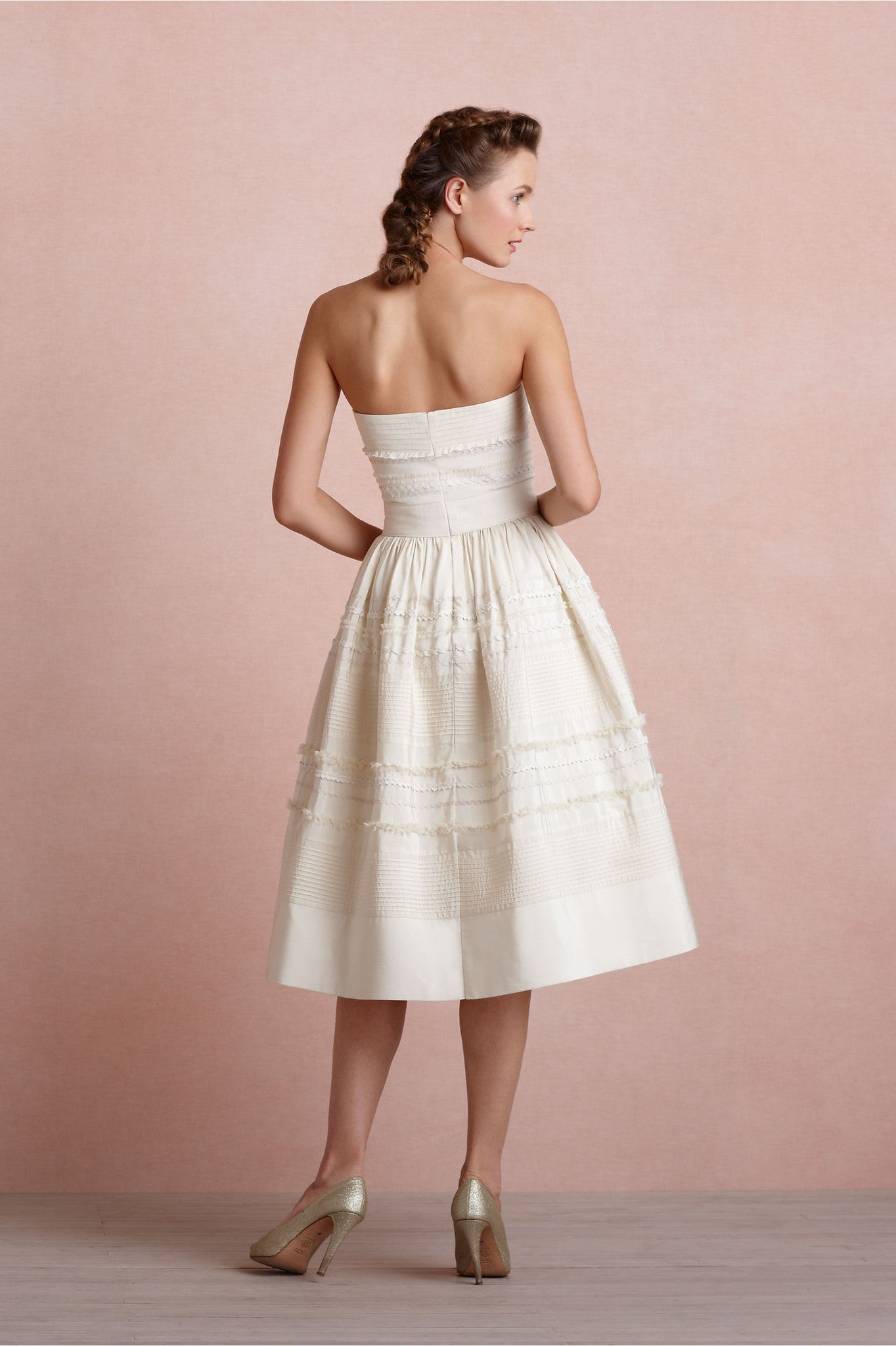 BHLDN Fondant Tea Dress - Adinas Bridal