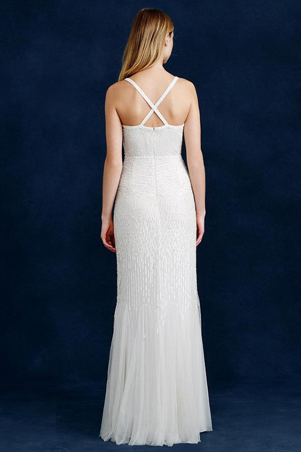 J. Crew Harper Beaded Mermaid Wedding Gown