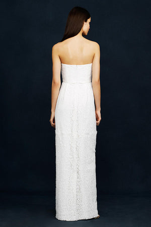 J. Crew Eyelash Lace Gown