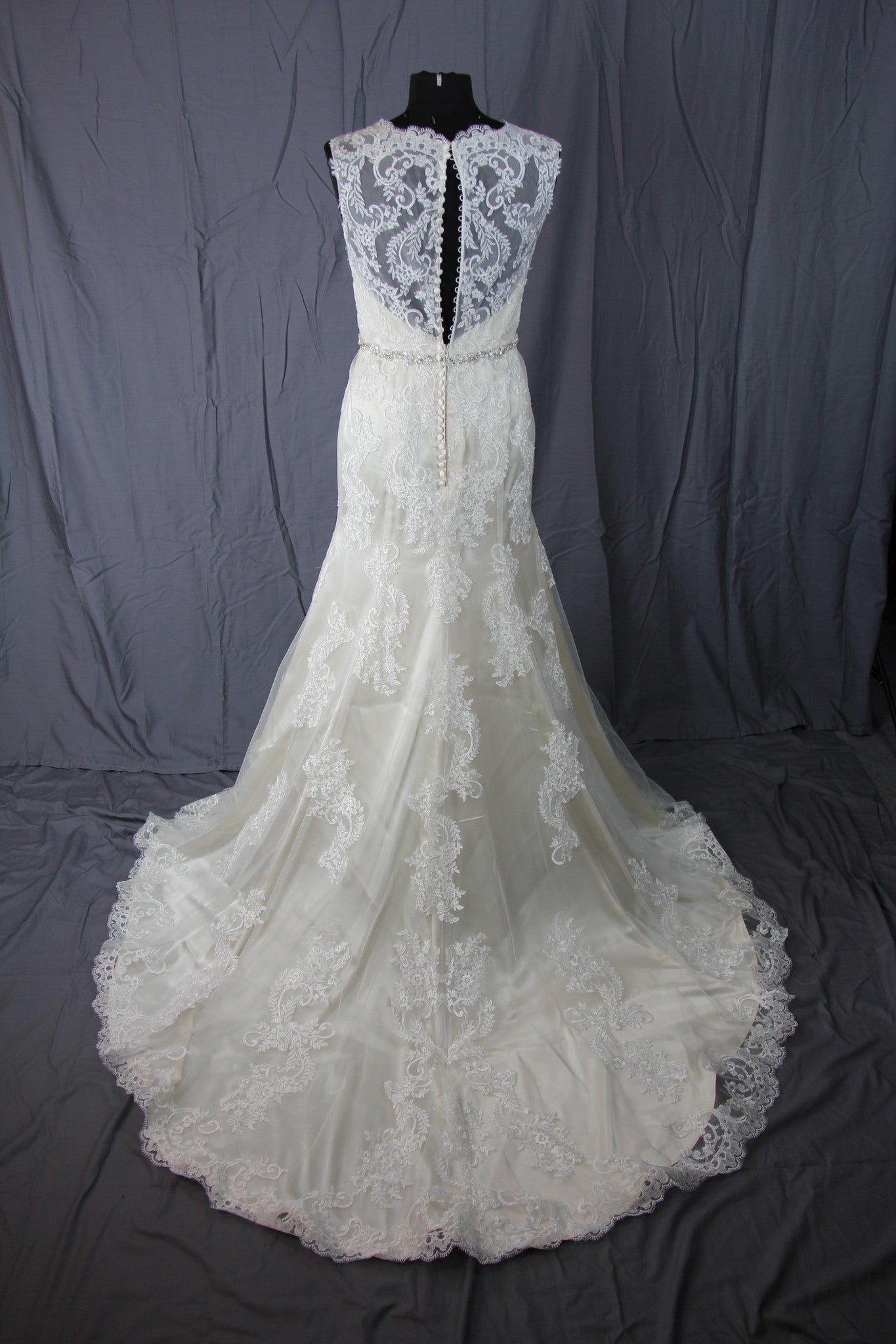 Jacquelin Exclusive - 19972 Light Gold Sample Gown - Adinas Bridal