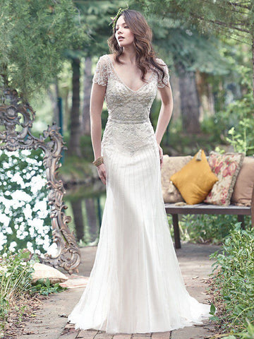 Maggie Sottero - Amal Sample Gown