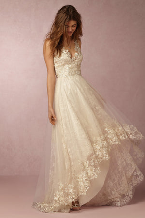 BHLDN Marchesa Notte Opal Gown