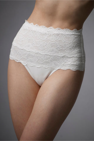 Never Say Never Sexy Control Shaper Thong - White