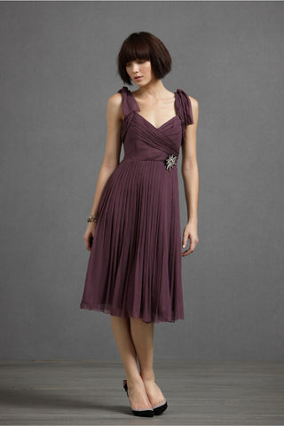 Sway-And-Swirl Dress - Plum Main