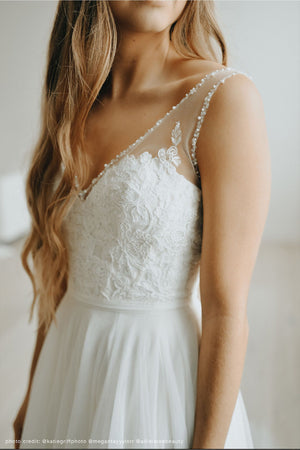BHLDN Wtoo Cassia Locklin Gown - Defects
