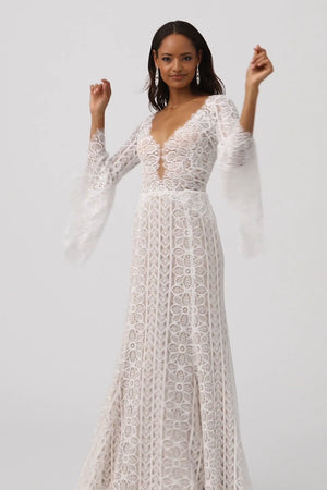 BHLDN Willowby Adelaide 51105 Gown
