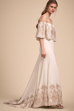 BHLDN Daughters of Simone Nomadic Gown
