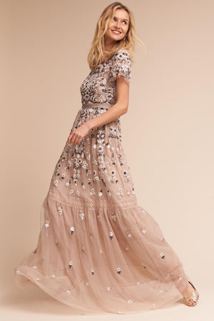 BHLDN Needle & Thread Everley Gown