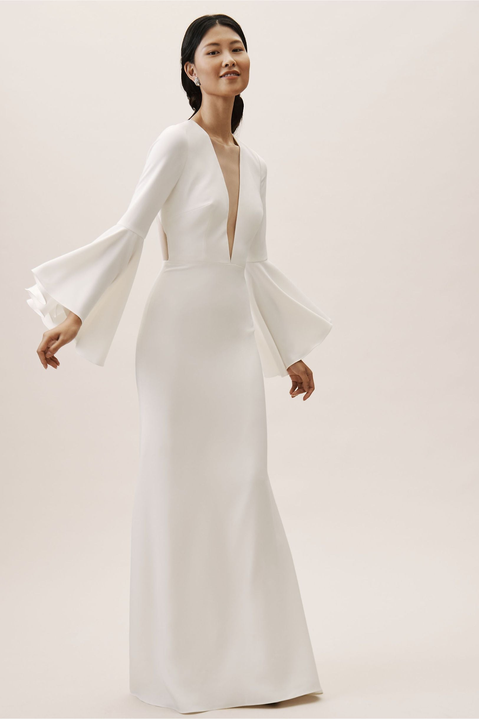 BHLDN Watters Caine Gown