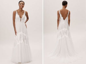 BHLDN Willowby by Watters Betony Clementine Gown