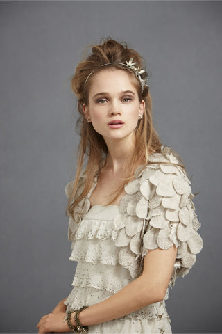 Bhldn Scalloped Flower Bolero Main