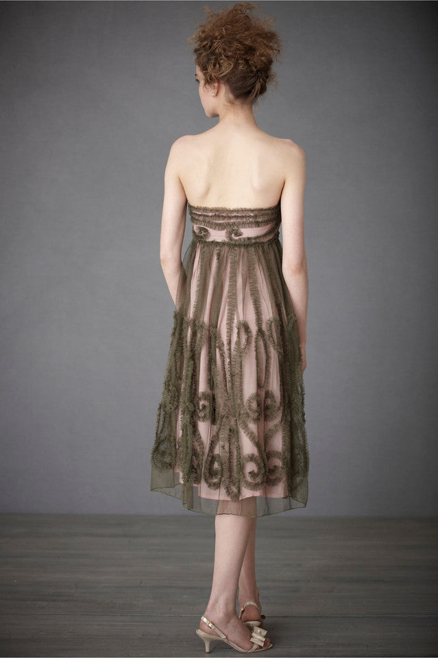 BHLDN Emerald Mist Dress Front