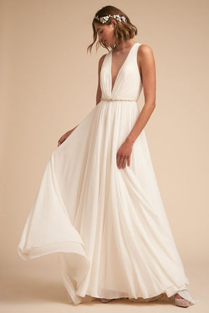 BHLDN Jenny Yoo Conrad Gown - Defects