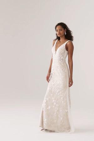 BHLDN Whispers & Echoes Claremont Gown