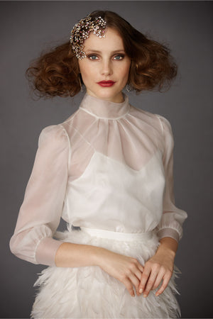 Diaphanous Blouse