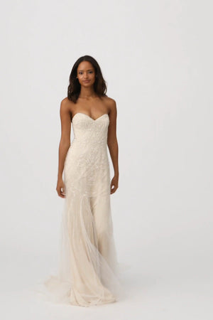 BHLDN Whispers & Echoes Amherst Gown