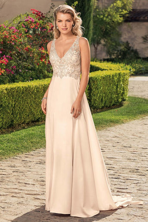 Casablanca - 2344 Rosa Sample Gown