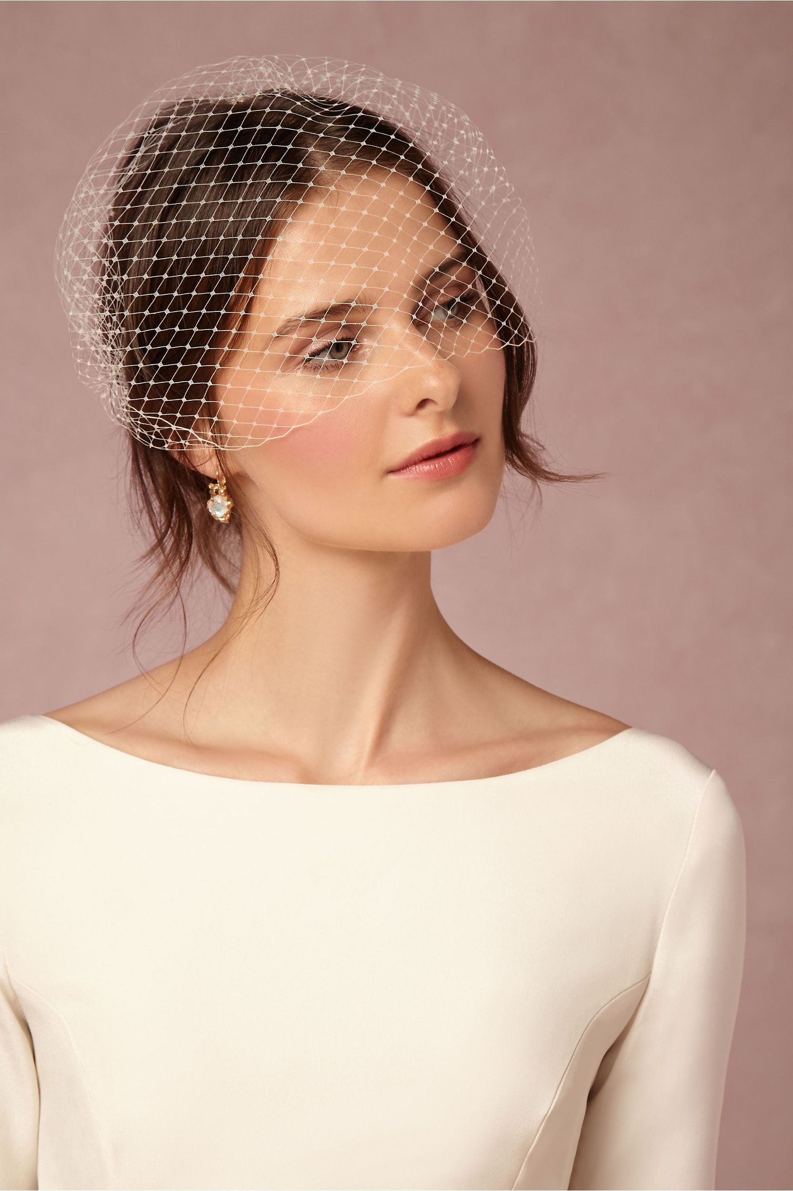 BHLDN Elodie Blusher Veil