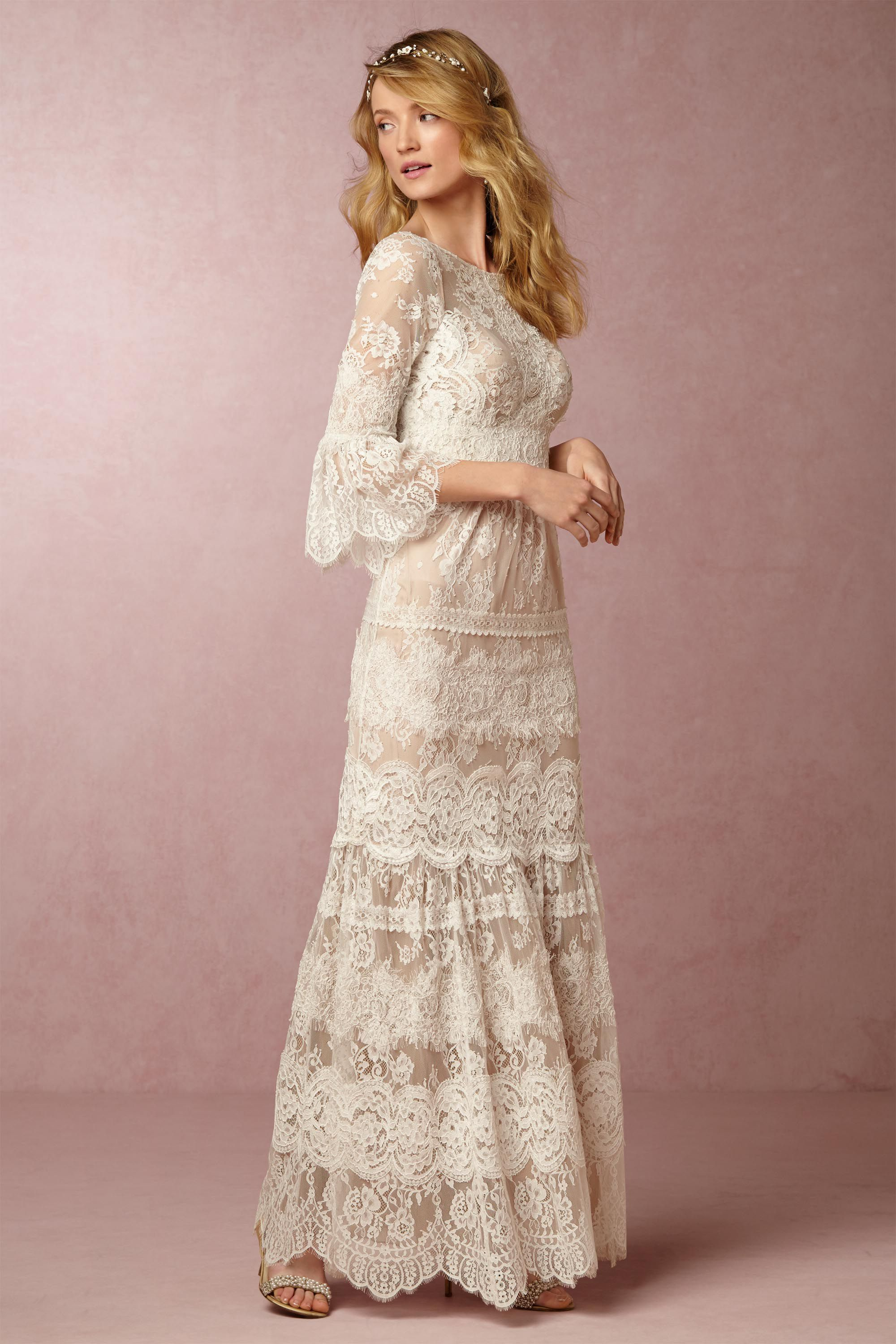 BHLDN Tracy Reese Drew Gown