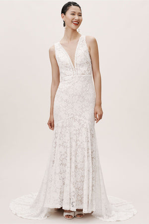 BHLDN Whispers & Echoes Latimer Gown