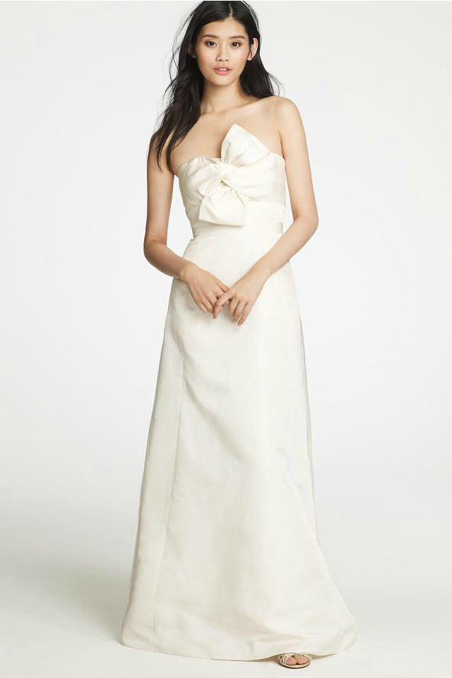 J Crew Bow Monde Wedding Gown