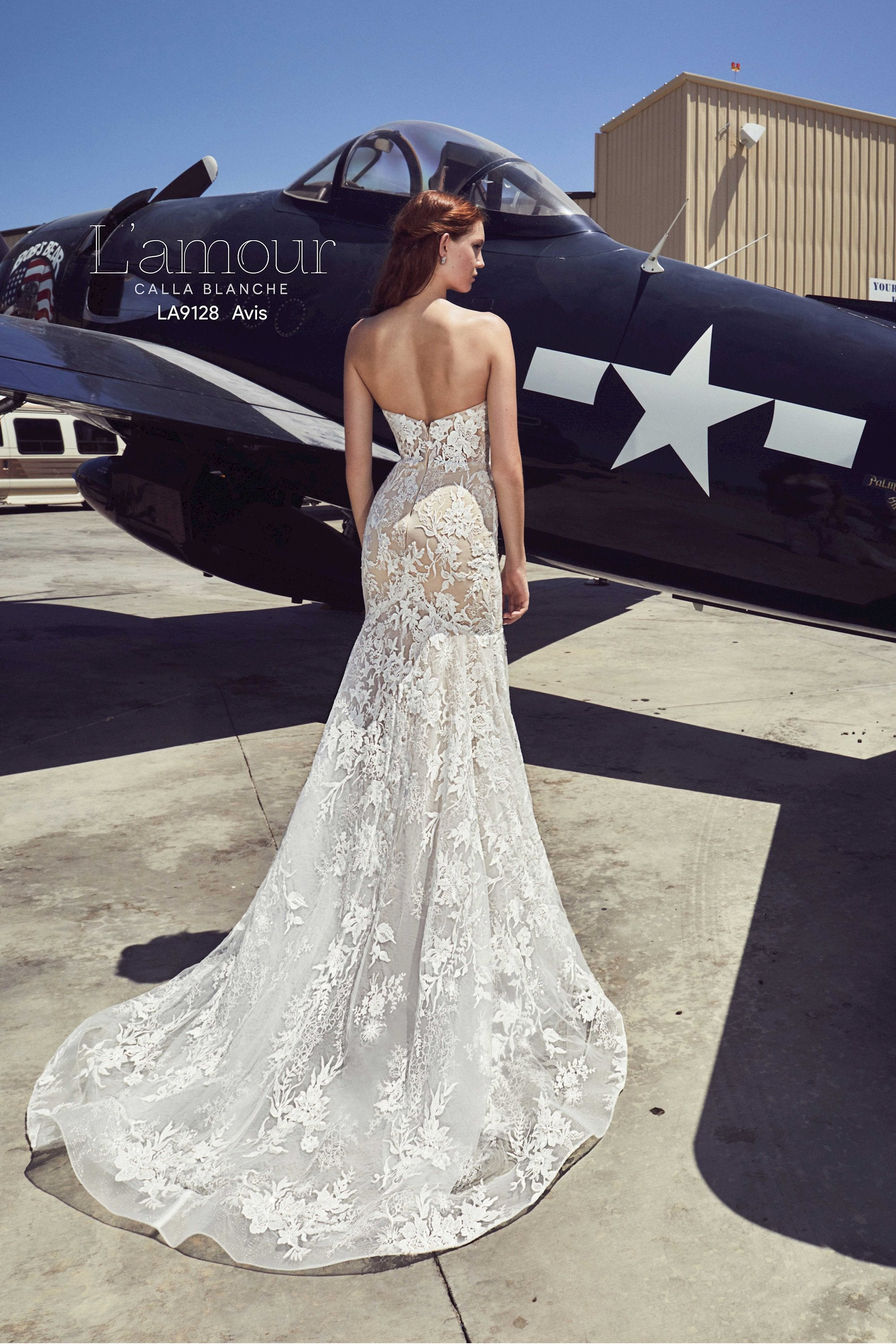 L'amour by Calla Blanche - LA9128 Avis Sample Gown