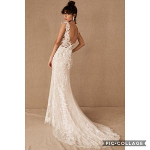 BHLDN Whispers & Echoes Milano Gown