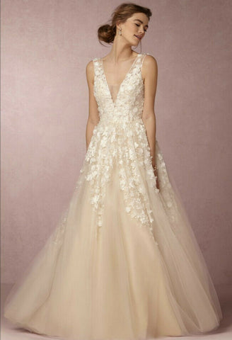 BHLDN Ariane Etoile Wedding Gown