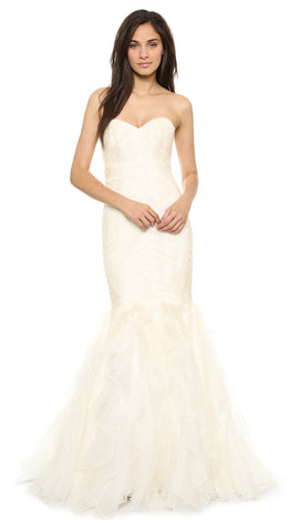 Theia - Patricia Mermaid Sample Gown