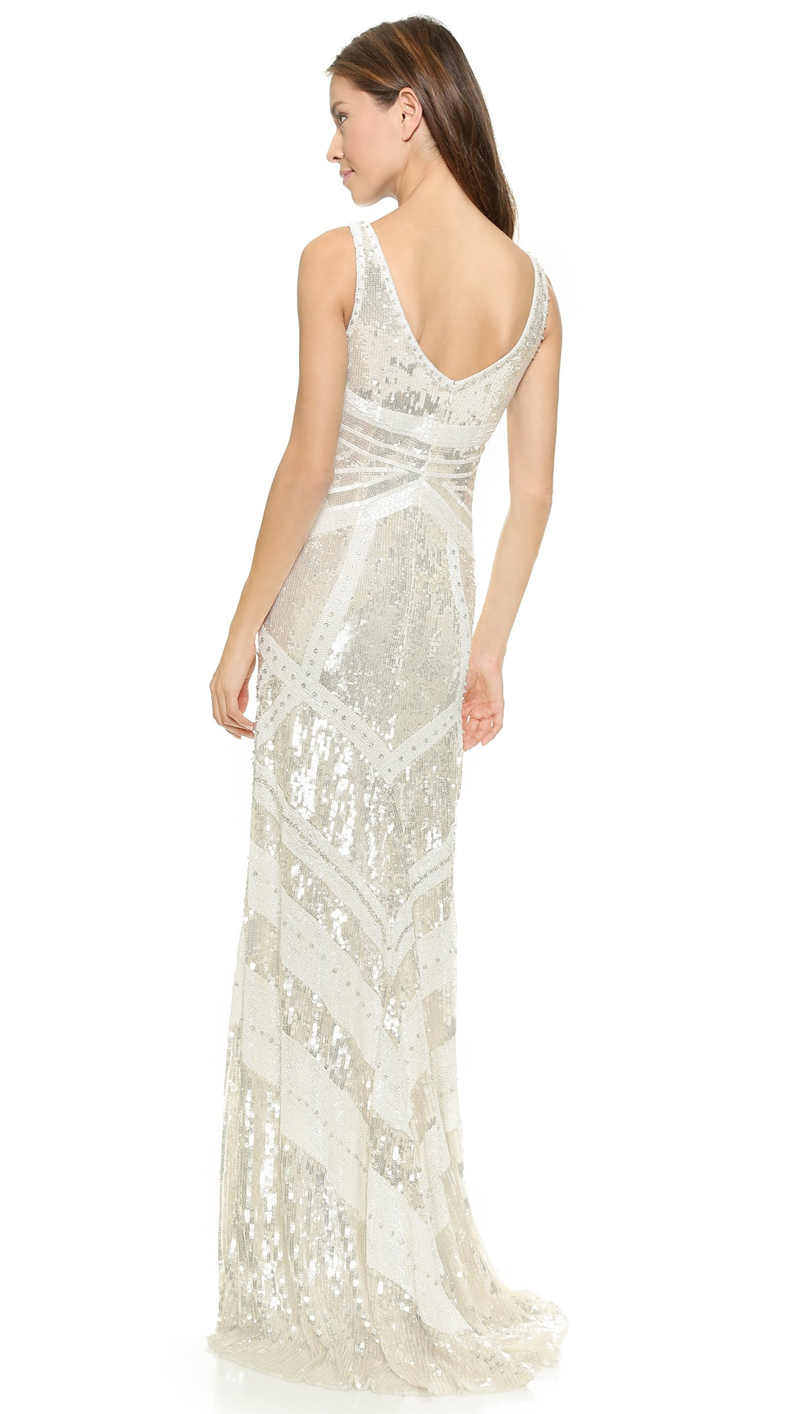 Theia Selene 890140 Sequin Wedding Gown - Adinas Bridal