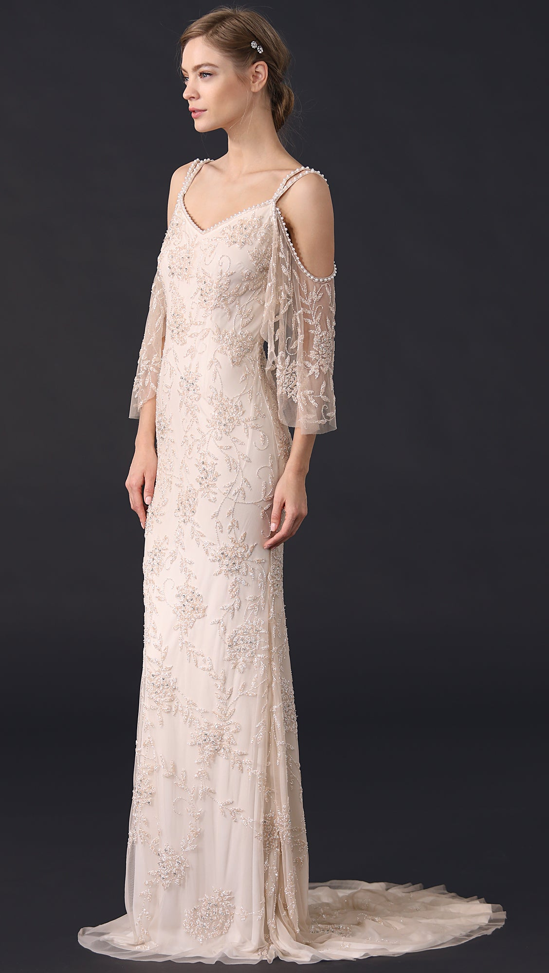 Blush Wedding Dress.Theia Layla 890425 Blush Wedding Gown