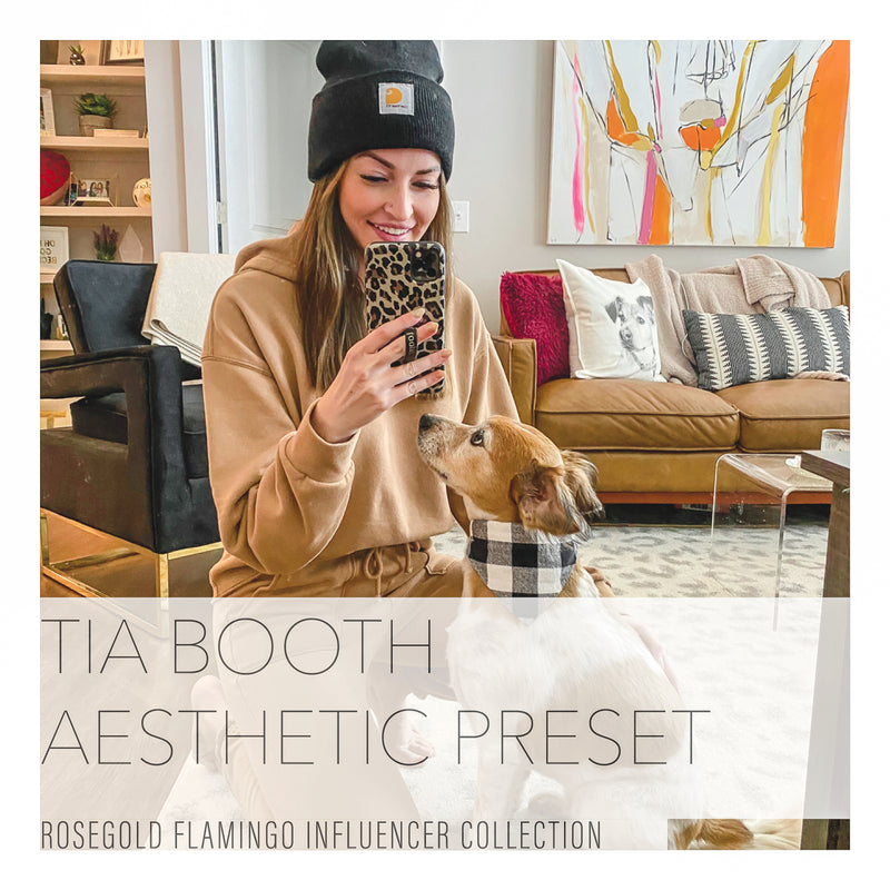 Tia Booth's Natural Lightroom Presets Collection
