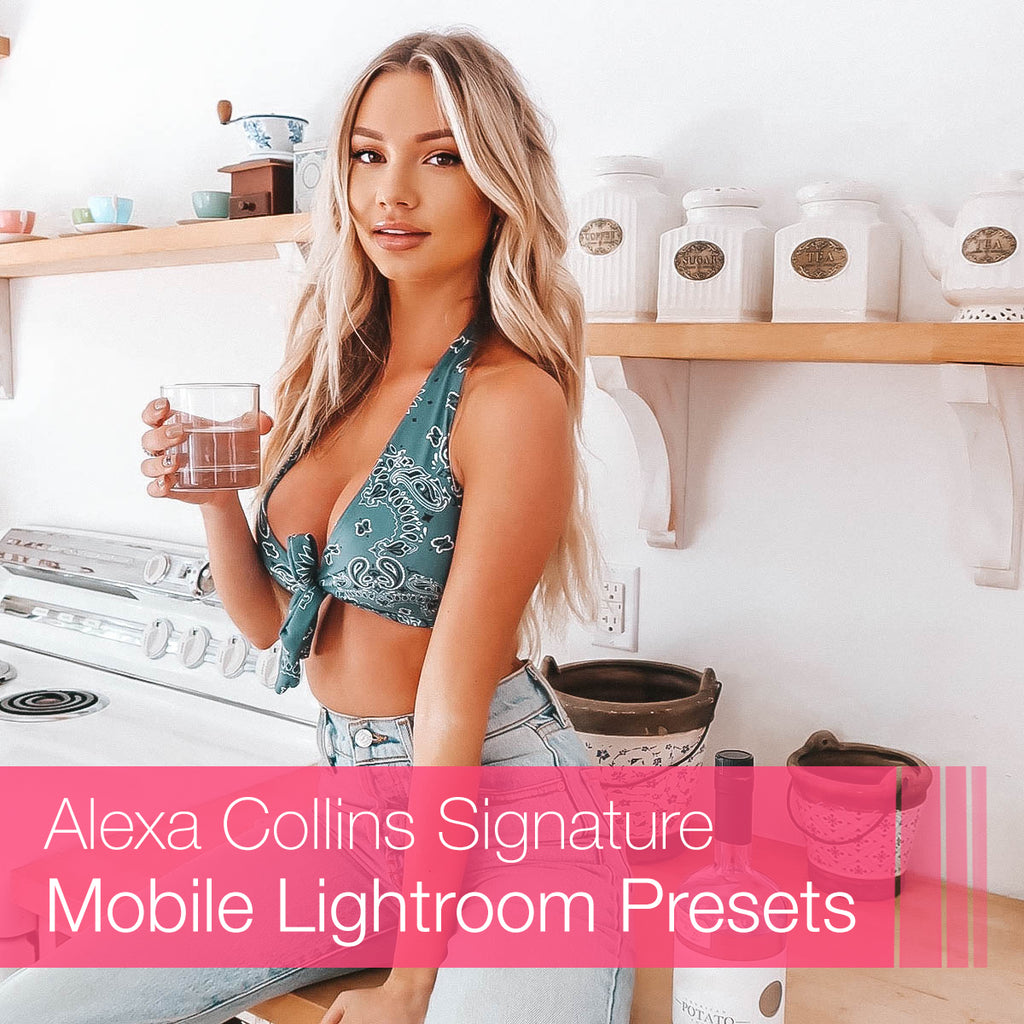 Alexa Collins Signature Lightroom Presets Collection