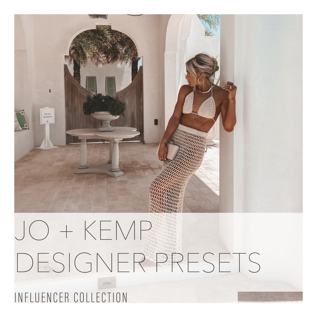 Jo and Kemp's Designer Mobile Presets