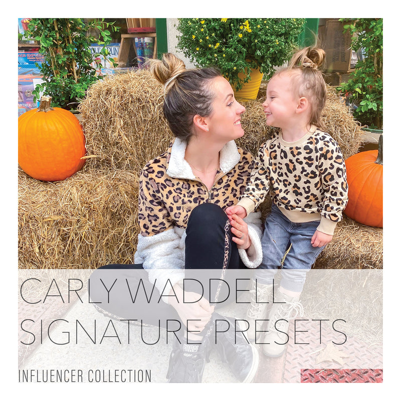Carly Waddell Signature Lightroom Presets Collection