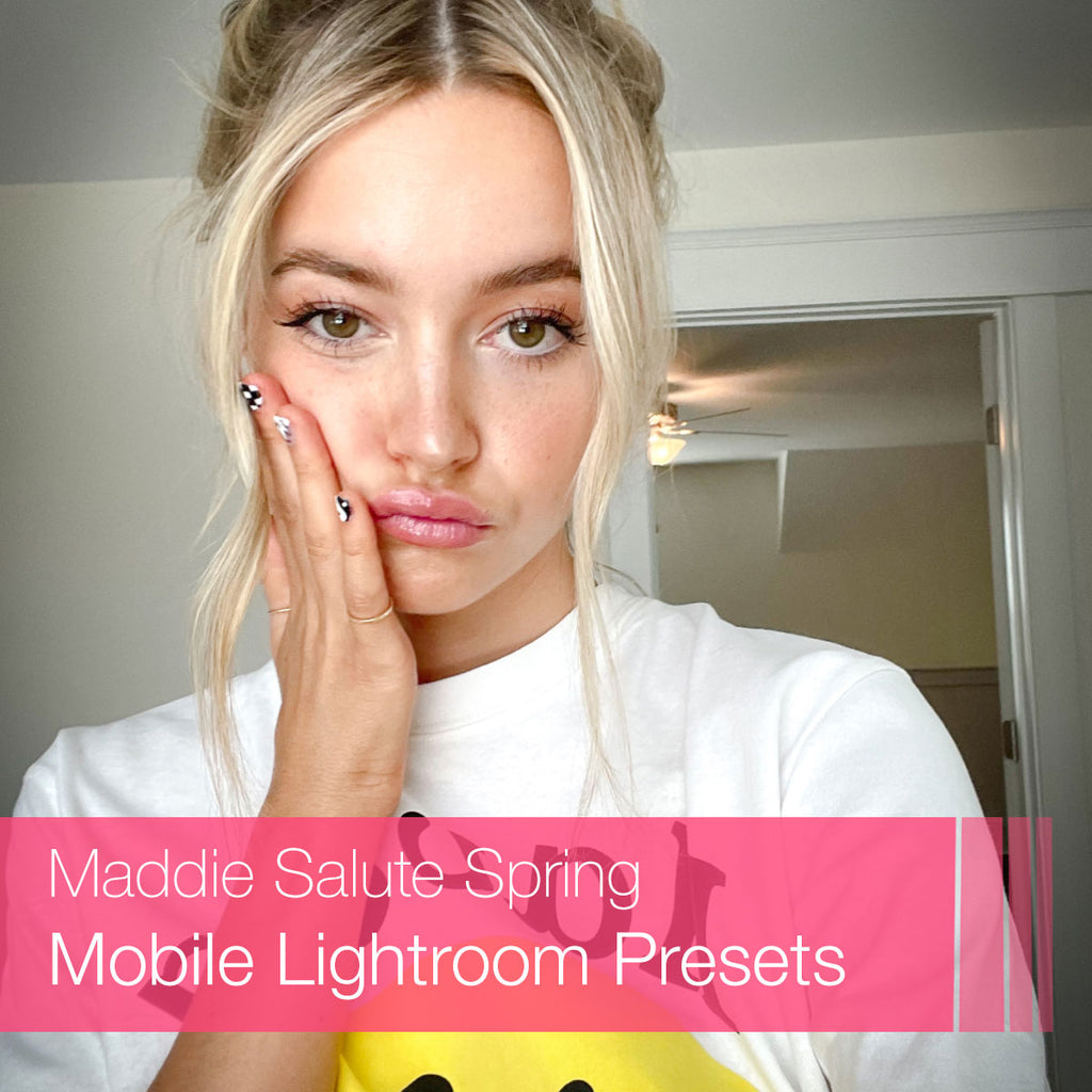 Maddie Salute Spring Mobile Lightroom Presets Collection