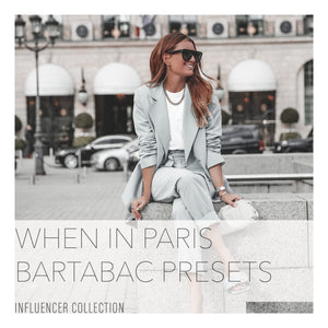 B A R T A B A C Signature Lightroom Presets Collection