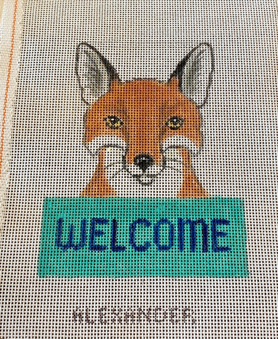 Welcome Sign - Fox